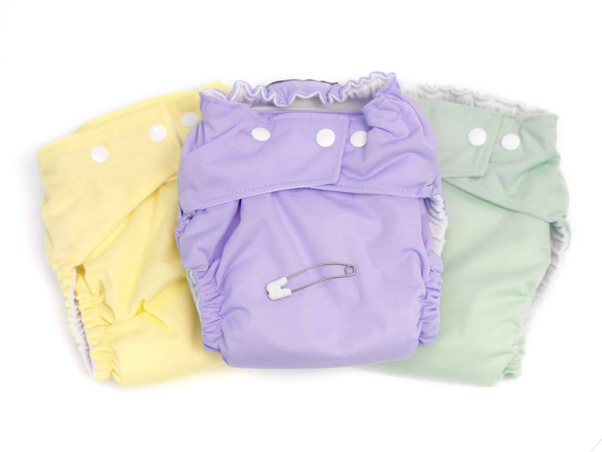 24 NEW FITTED CLOTH BABY NAPPIES 100/%COTTON-LARGE SIZE