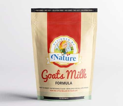 Designed by Nature Goat's Milk Formula