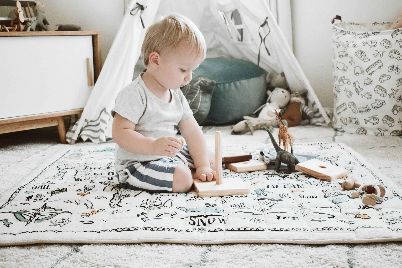 Finch & Folk Organic Cotton Play Mat