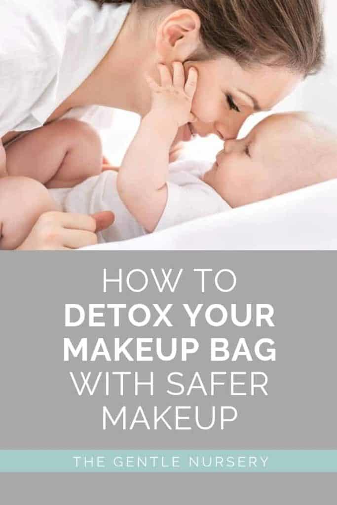 detox your makeup bag for pregnancy