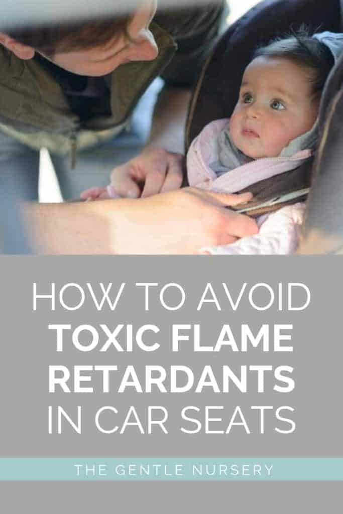 non-toxic car seats how to avoid flame retardants in car seats