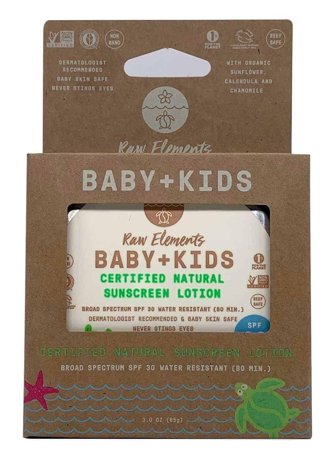 best natural sunscreen for babies