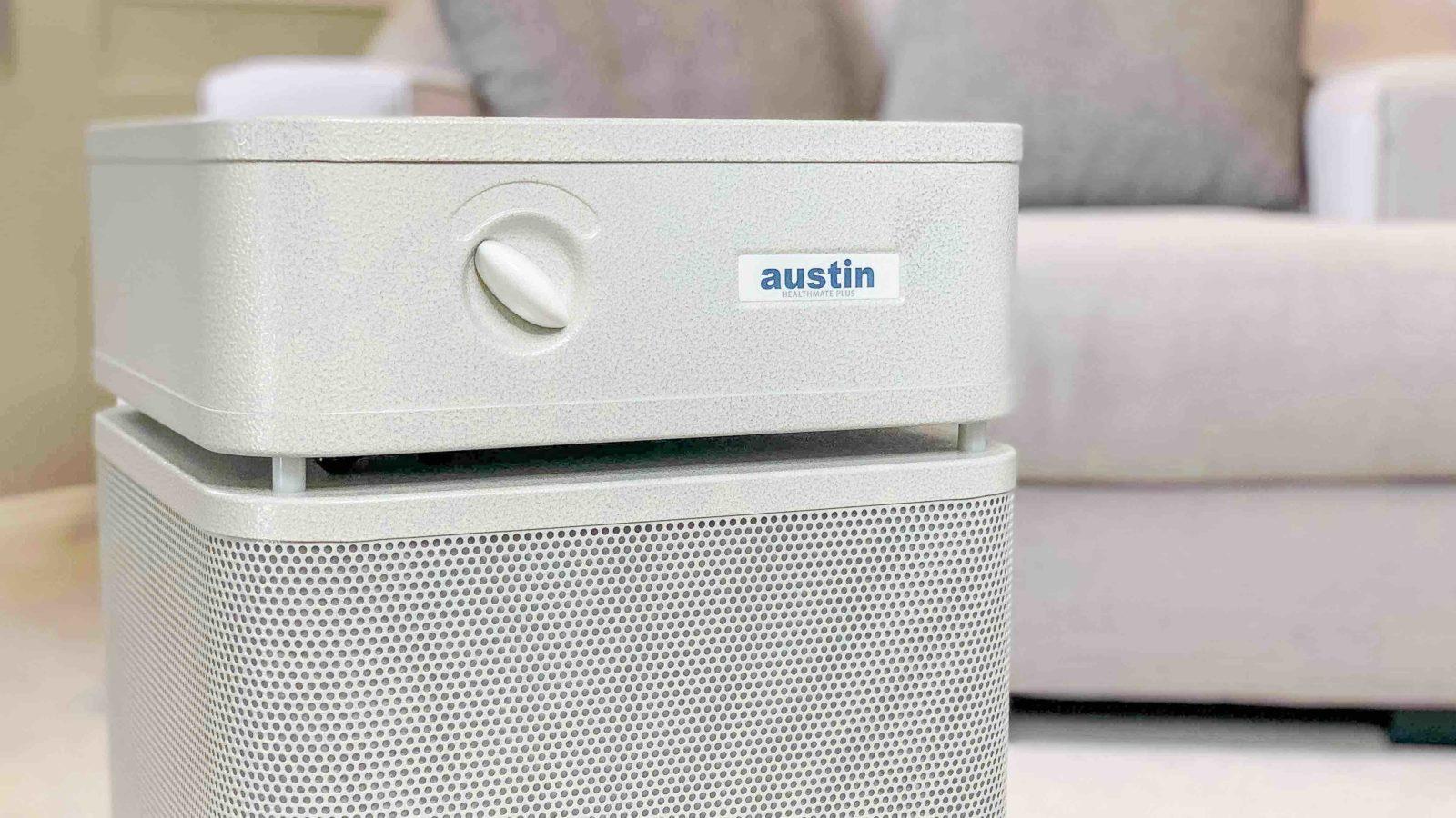 austin air filter near couch